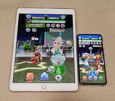 iPadでみんゴル復活のイメージ画像